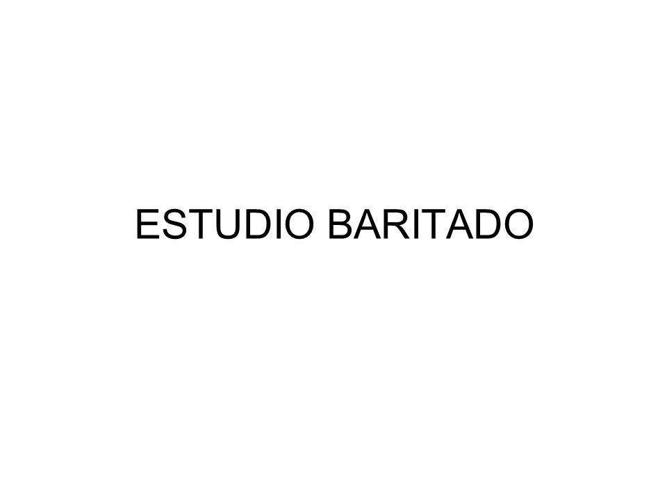 ESTUDIO BARITADO