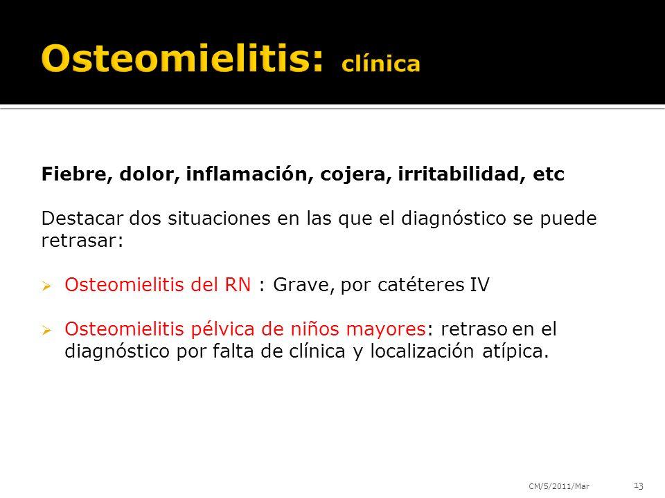 Osteomielitis: clínica