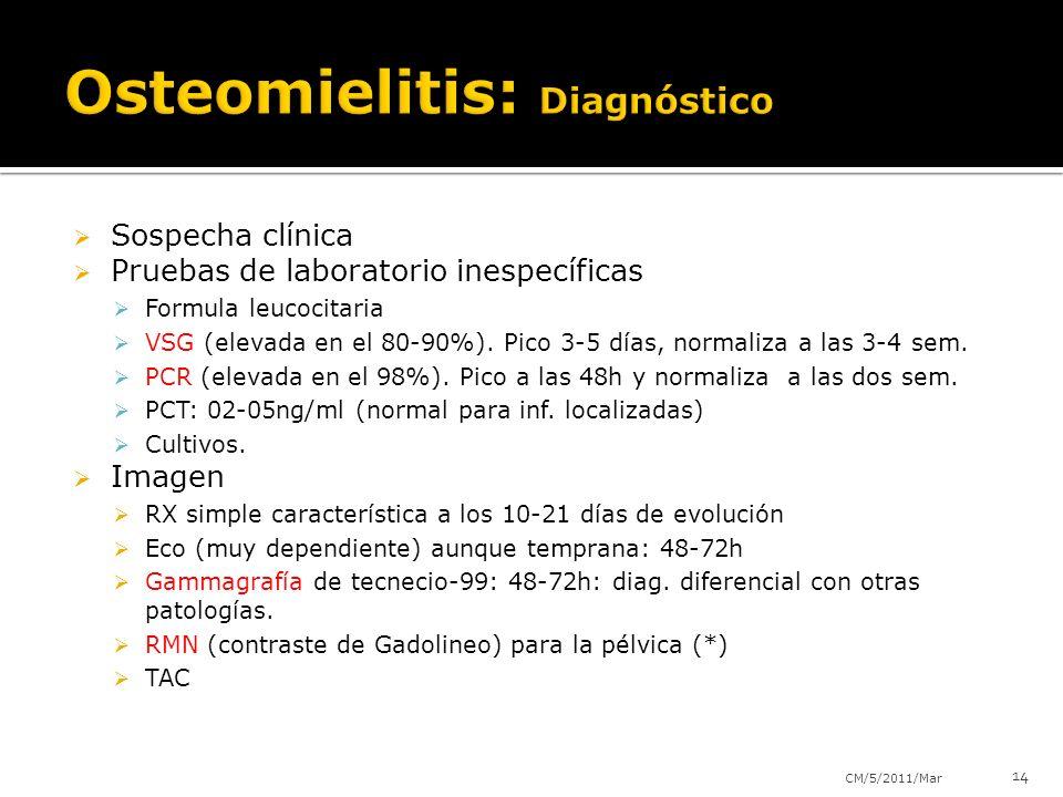 Osteomielitis: Diagnóstico