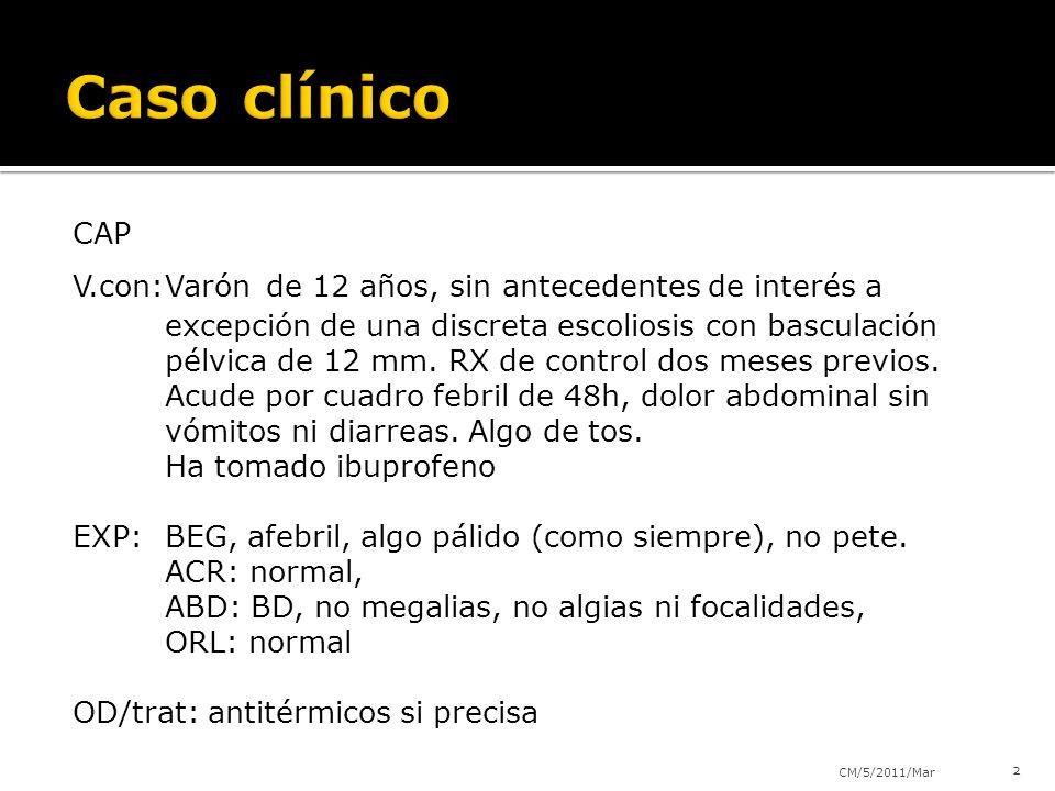 Caso clínico CAP.