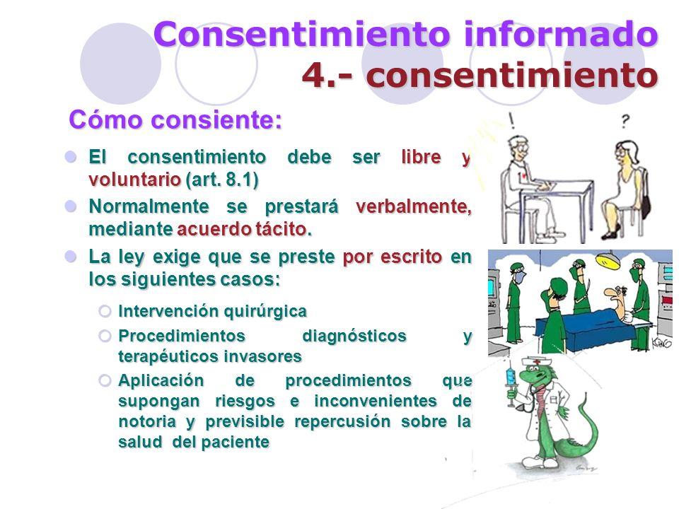 Consentimiento informado 4.- consentimiento