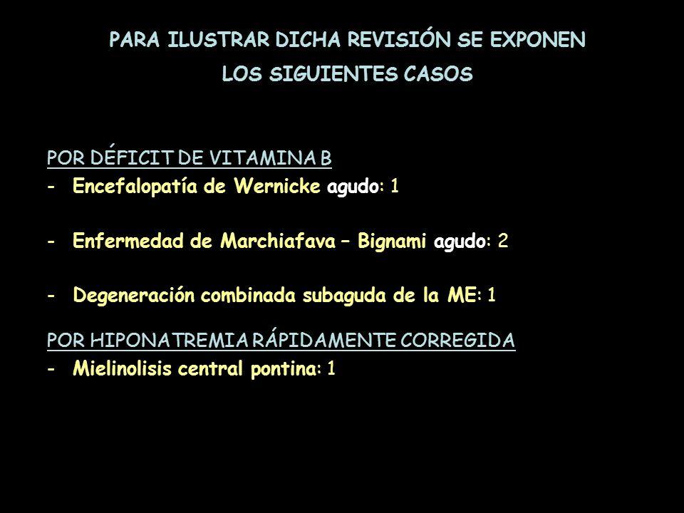 PARA ILUSTRAR DICHA REVISIÓN SE EXPONEN