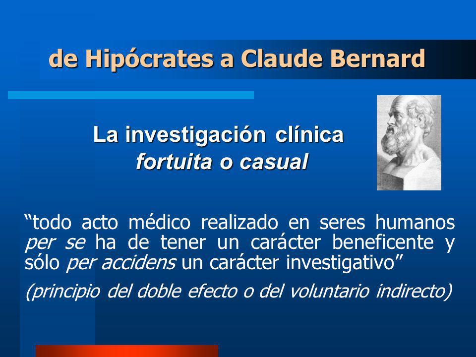 La investigación clínica