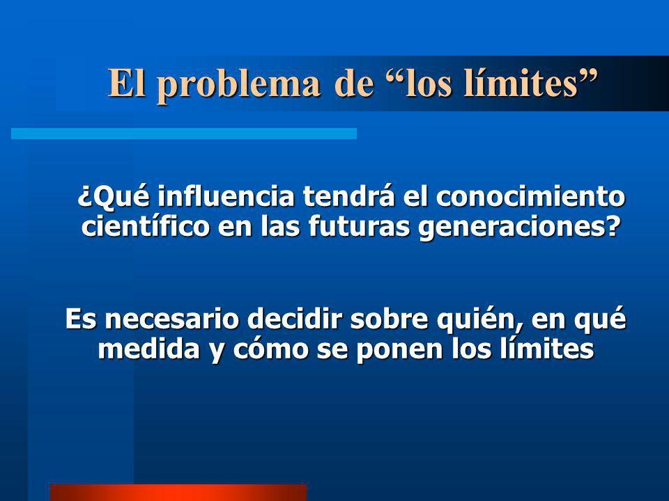 El problema de los límites