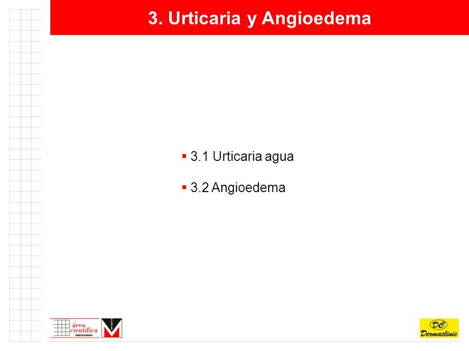 3. Urticaria y Angioedema