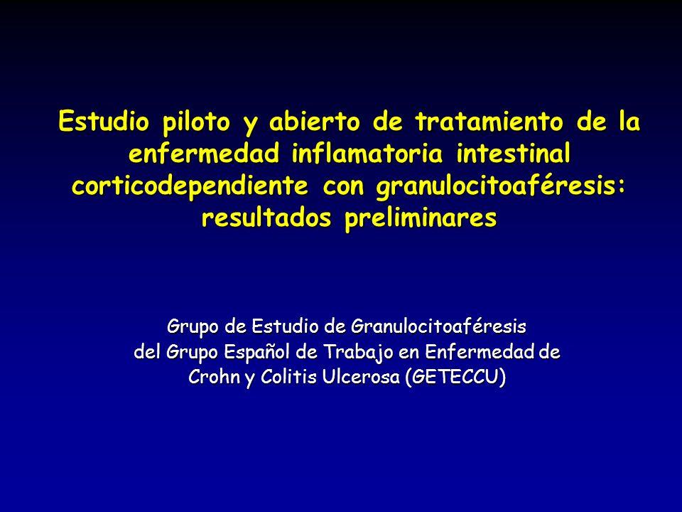 Grupo de Estudio de Granulocitoaféresis