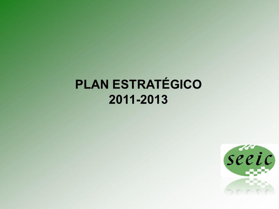 PLAN ESTRATÉGICO 2011-2013 1 1 Plan Estratégico 2010 - 2013