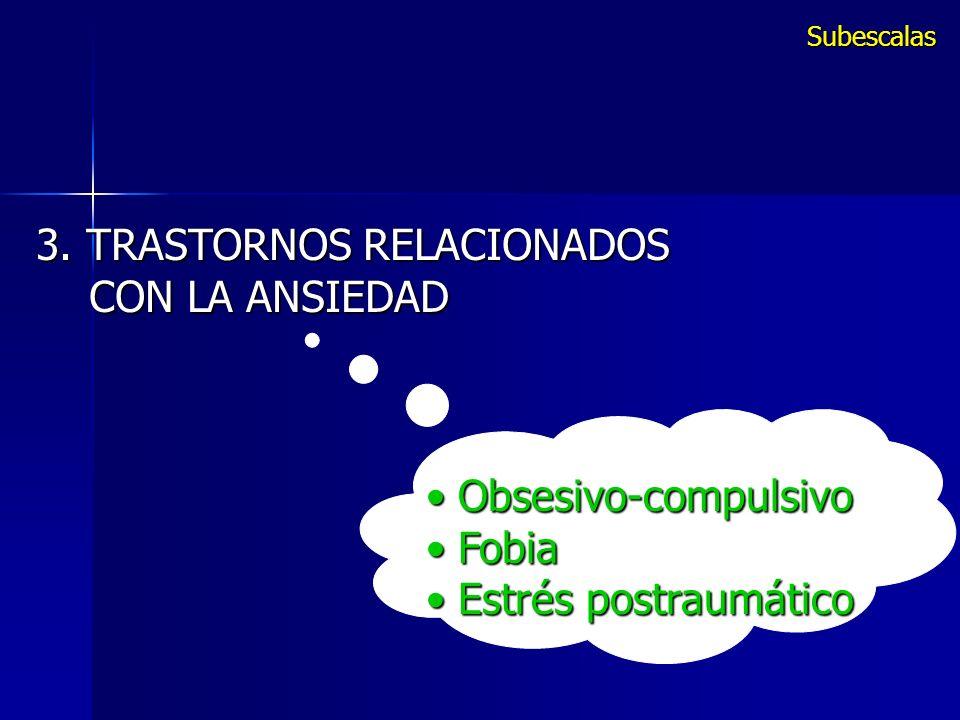 3. TRASTORNOS RELACIONADOS CON LA ANSIEDAD