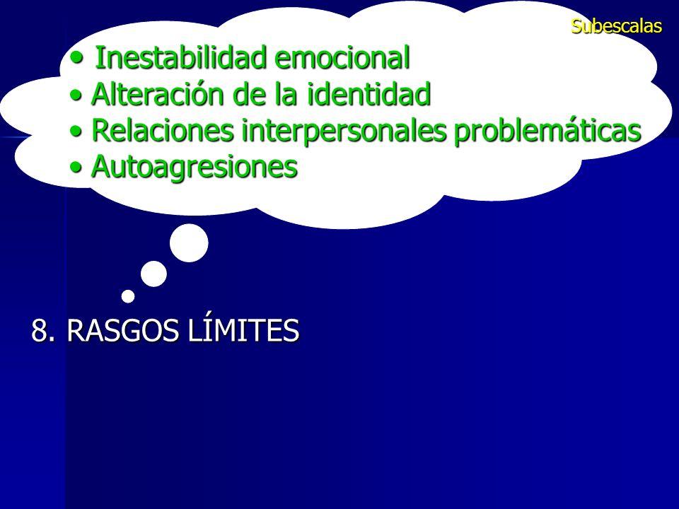 Inestabilidad emocional