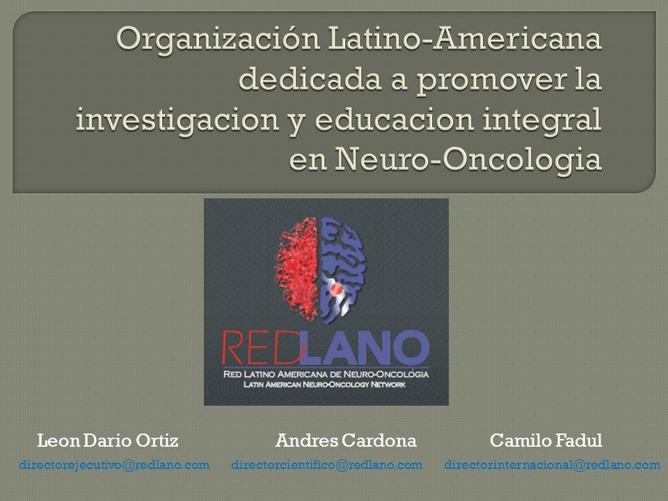 Organización Latino-Americana dedicada a promover la investigacion y educacion integral en Neuro-Oncologia