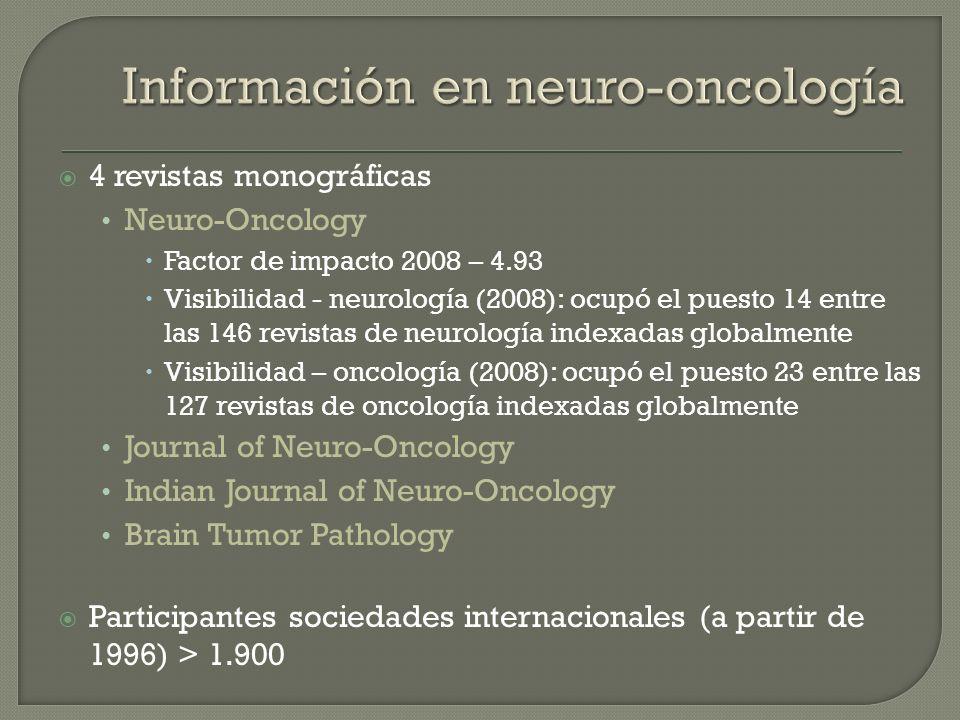 Información en neuro-oncología