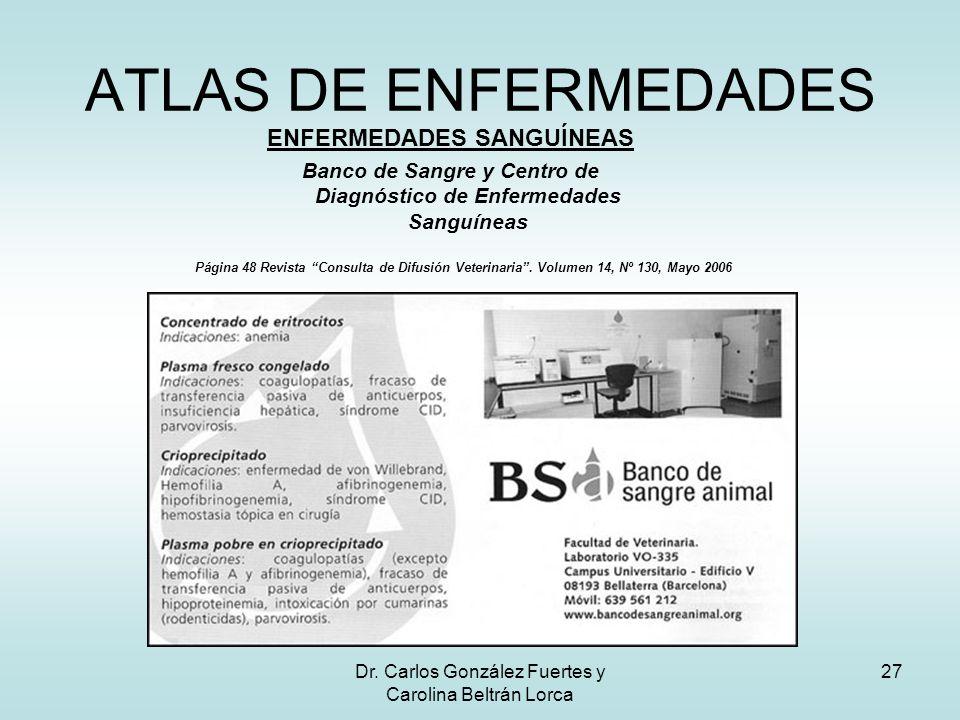 ATLAS DE ENFERMEDADES ENFERMEDADES SANGUÍNEAS