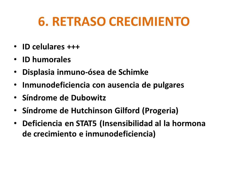 6. RETRASO CRECIMIENTO ID celulares +++ ID humorales