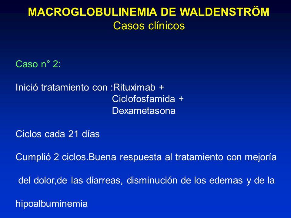 MACROGLOBULINEMIA DE WALDENSTRÖM
