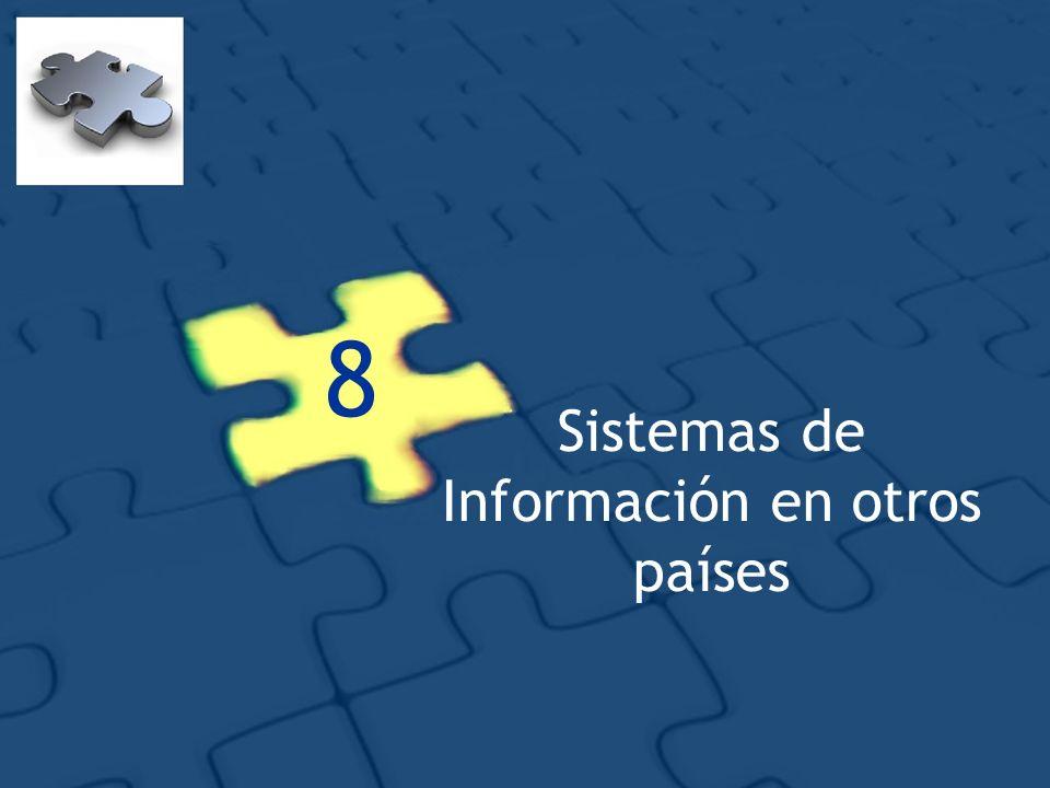 Sistemas de Información en otros países