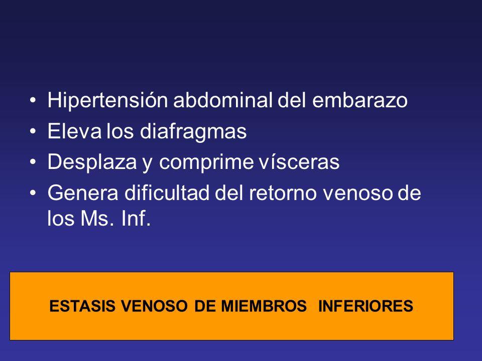 ESTASIS VENOSO DE MIEMBROS INFERIORES