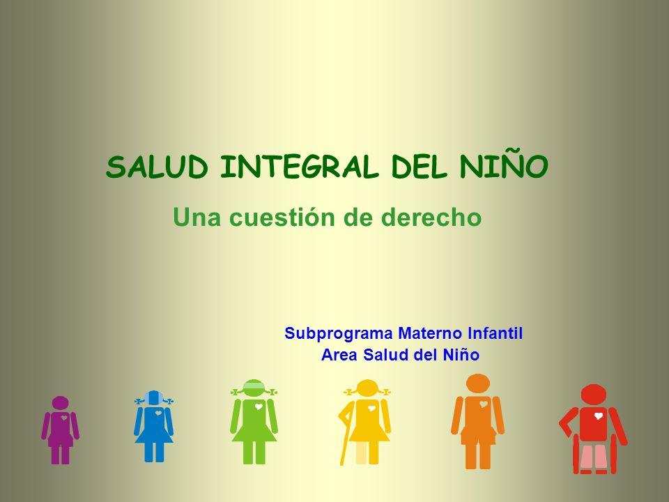 SALUD INTEGRAL DEL NIÑO