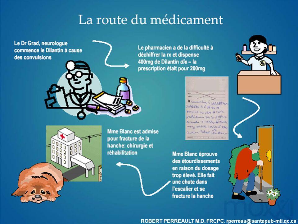 ROBERT PERREAULT M.D. FRCPC. rperreau@santepub-mtl.qc.ca