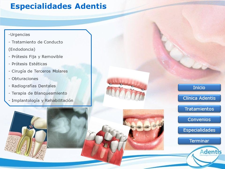 Especialidades Adentis