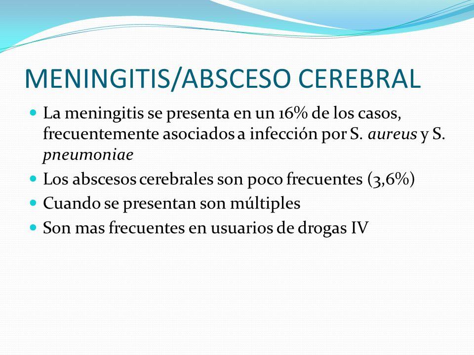 MENINGITIS/ABSCESO CEREBRAL