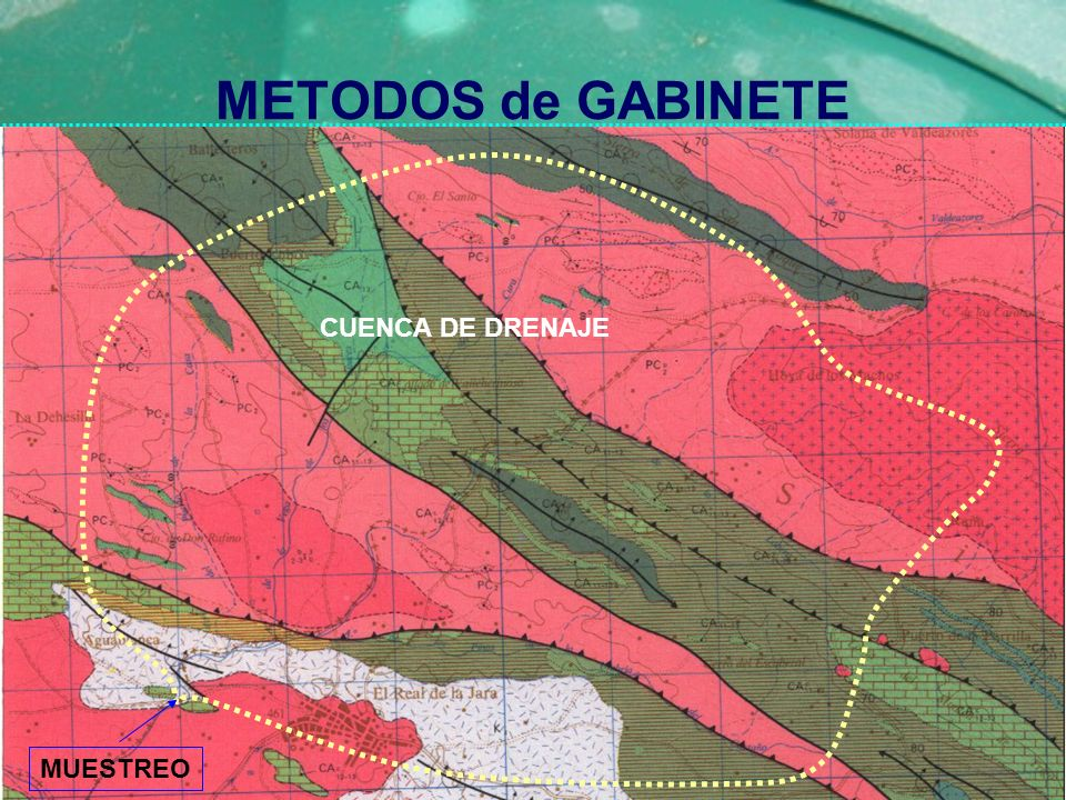 METODOS de GABINETE CUENCA DE DRENAJE MUESTREO