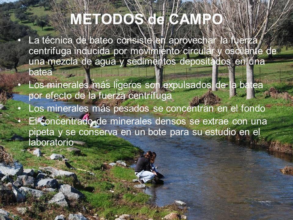 METODOS de CAMPO