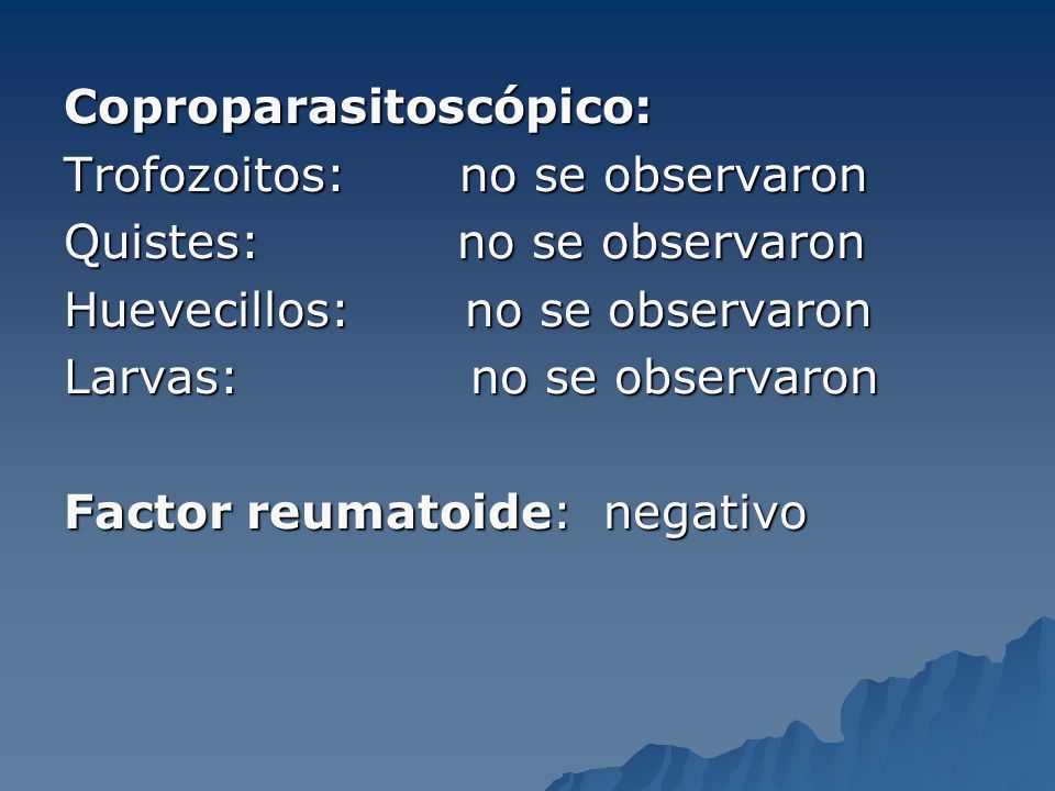 Coproparasitoscópico: