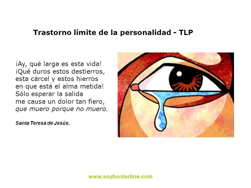 Trastorno límite de la personalidad - TLP