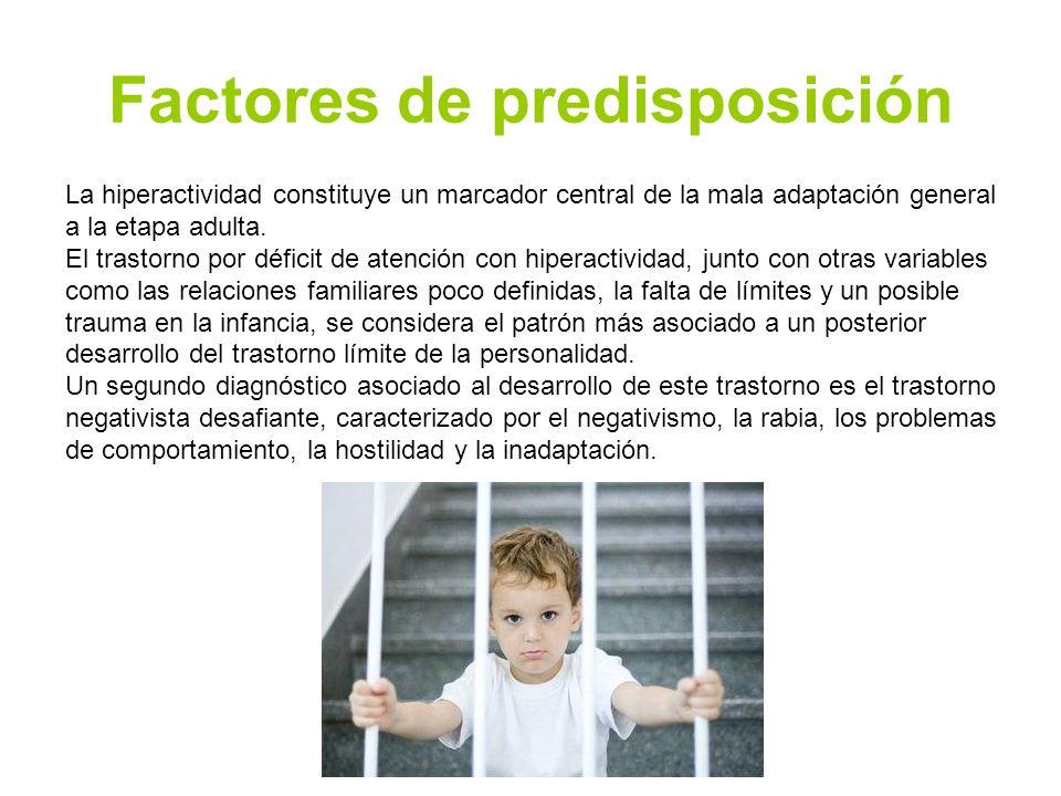 Factores de predisposición