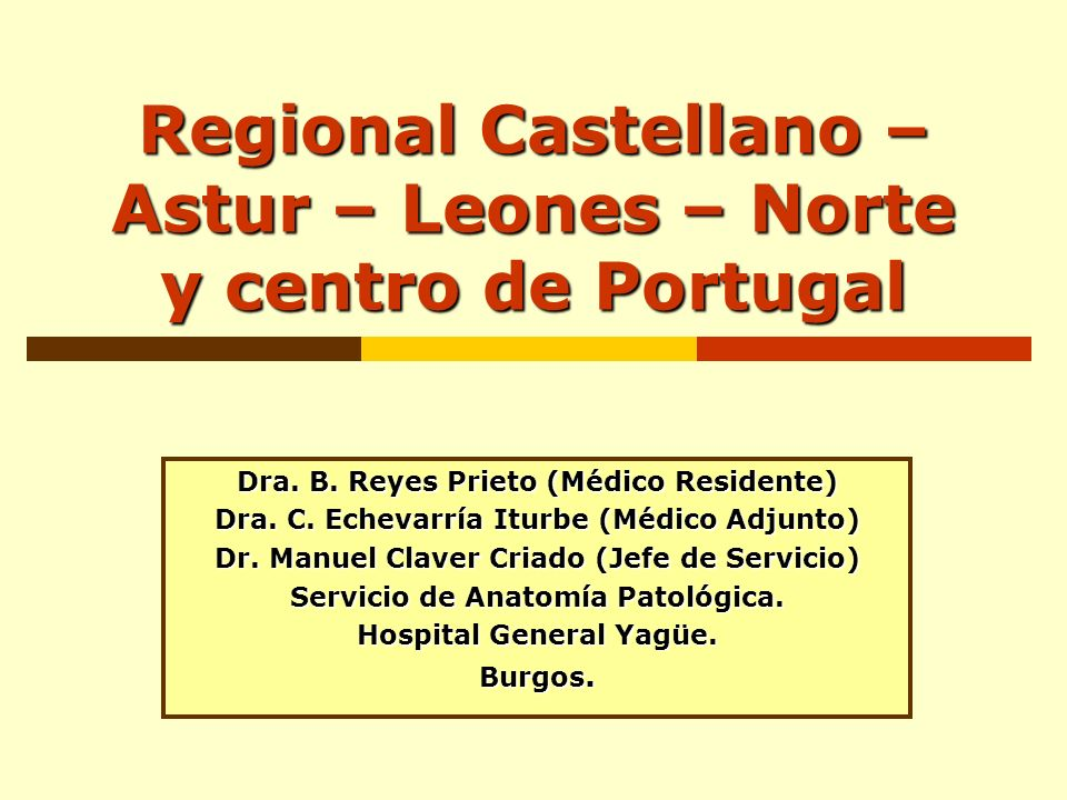 Regional Castellano – Astur – Leones – Norte y centro de Portugal
