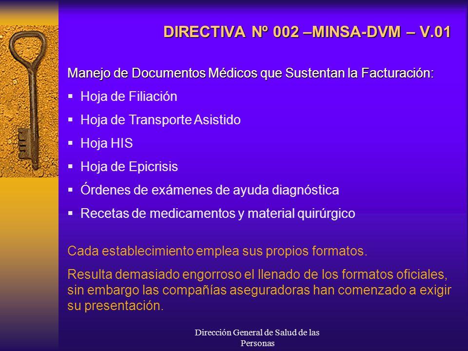 Dirección General de Salud de las Personas