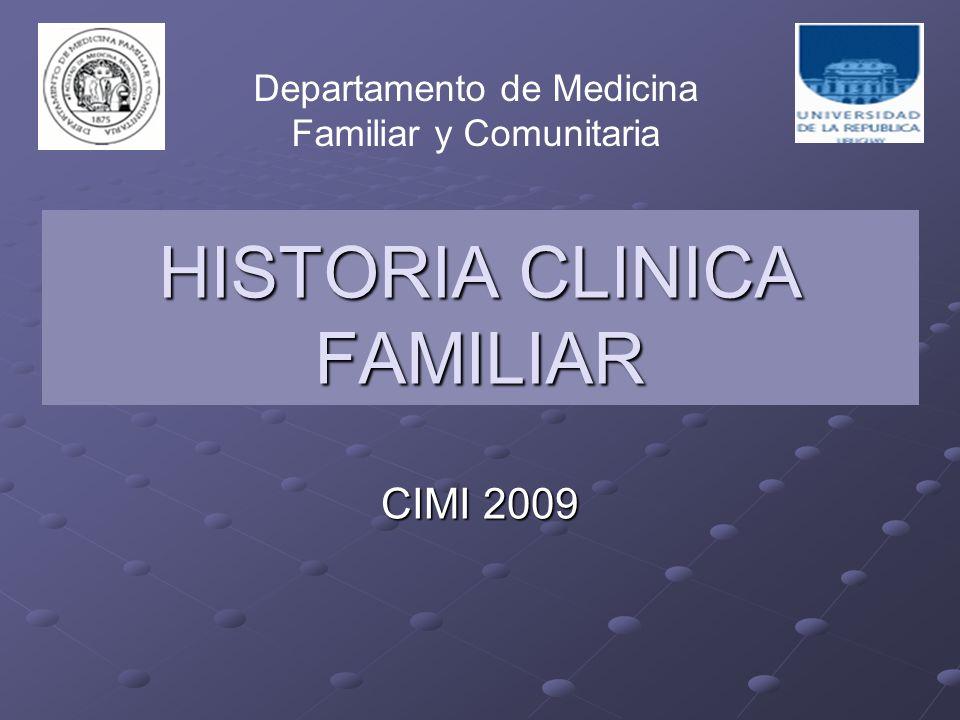 HISTORIA CLINICA FAMILIAR