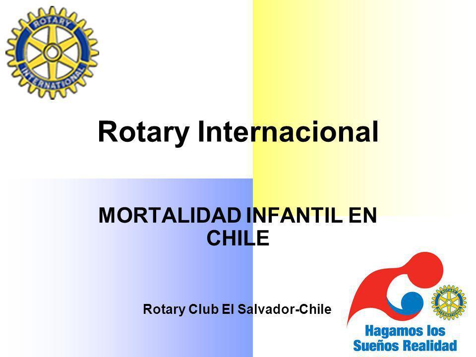 MORTALIDAD INFANTIL EN CHILE