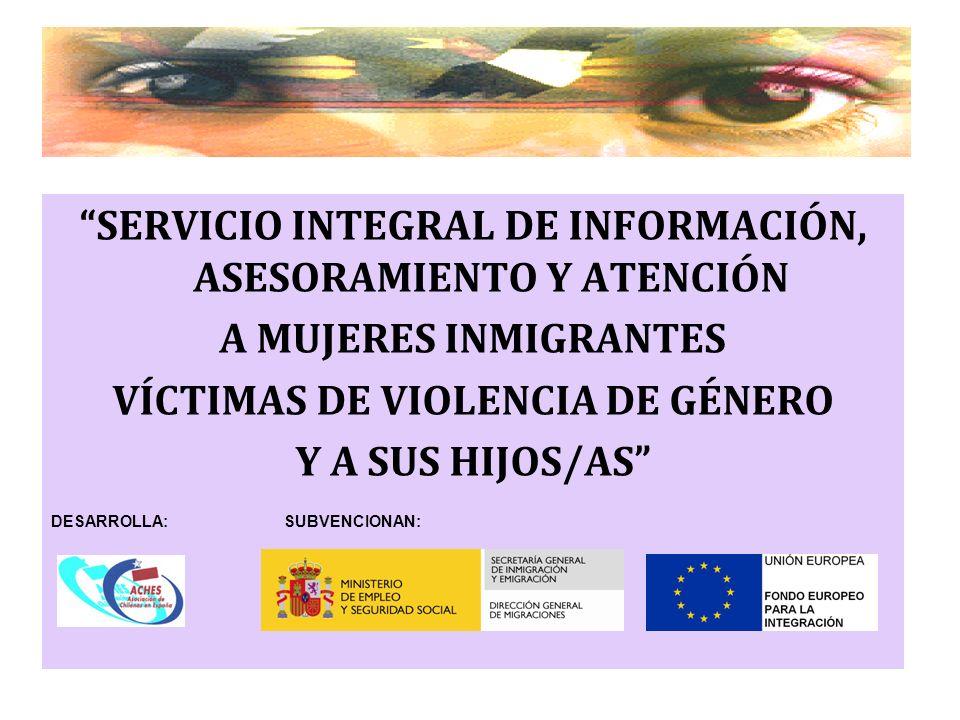 SERVICIO INTEGRAL DE INFORMACIÓN, ASESORAMIENTO Y ATENCIÓN