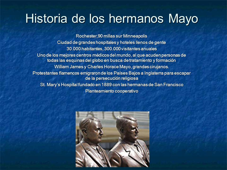 Historia de los hermanos Mayo