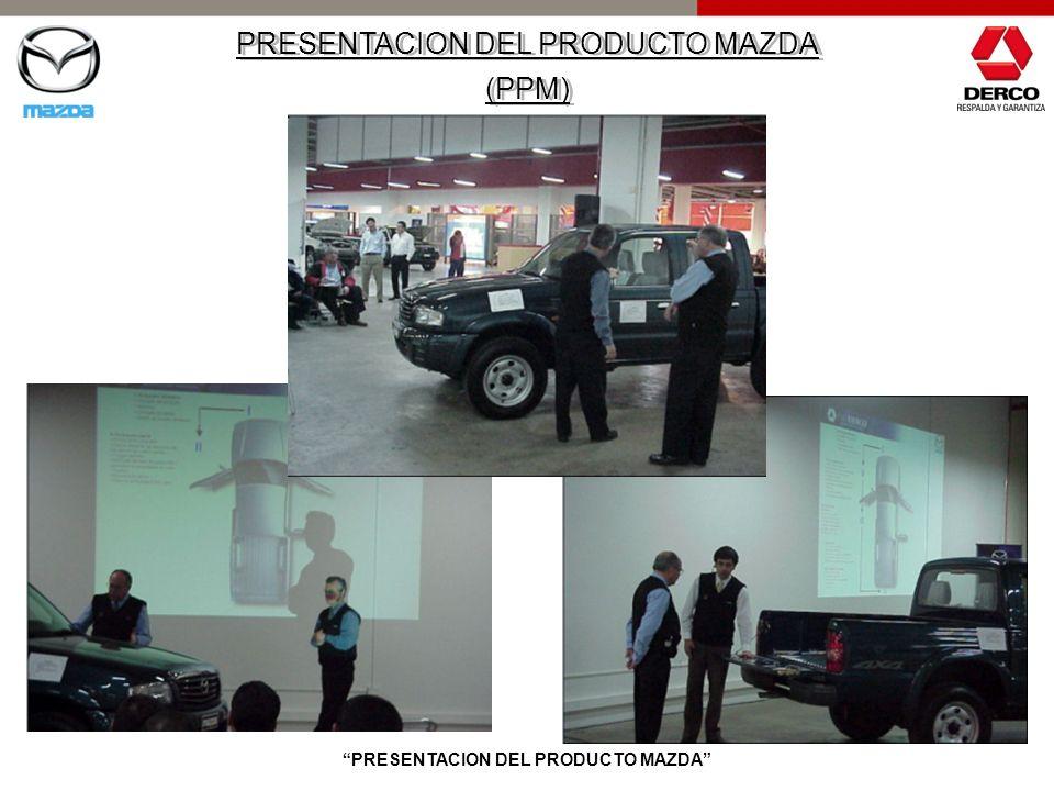 PRESENTACION DEL PRODUCTO MAZDA