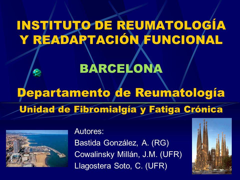 INSTITUTO DE REUMATOLOGÍA Y READAPTACIÓN FUNCIONAL BARCELONA