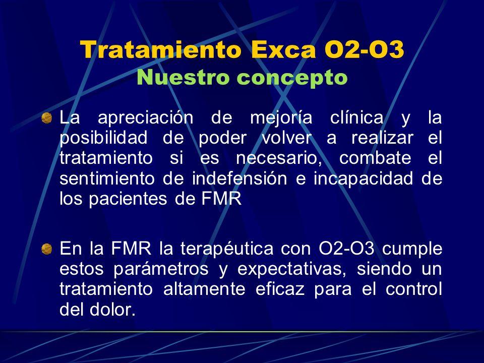 Tratamiento Exca O2-O3 Nuestro concepto