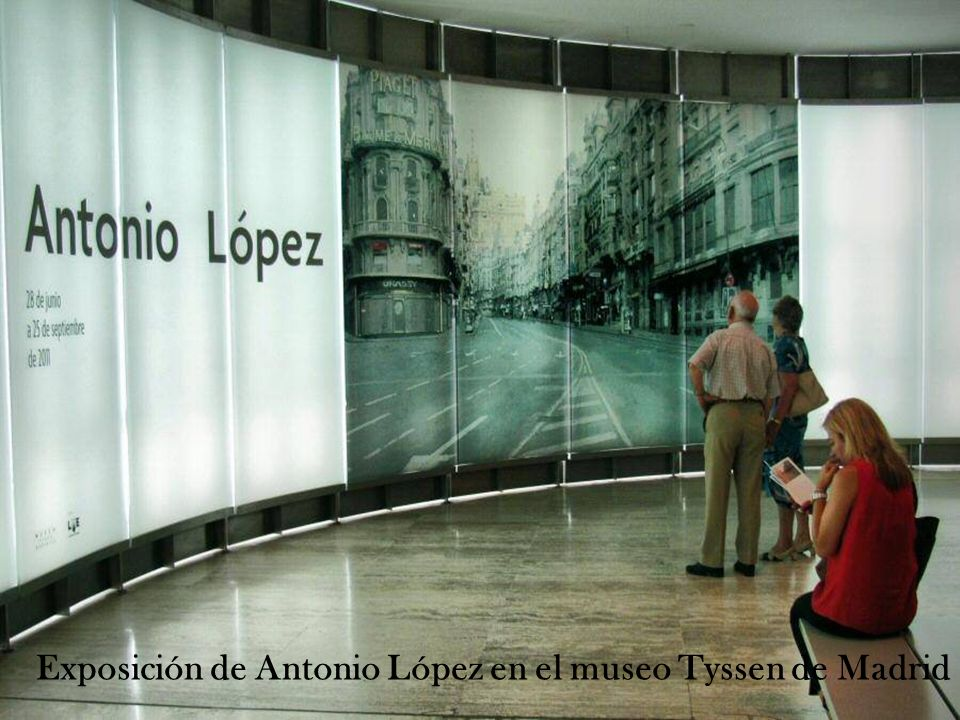 Exposición de Antonio López en el museo Tyssen de Madrid
