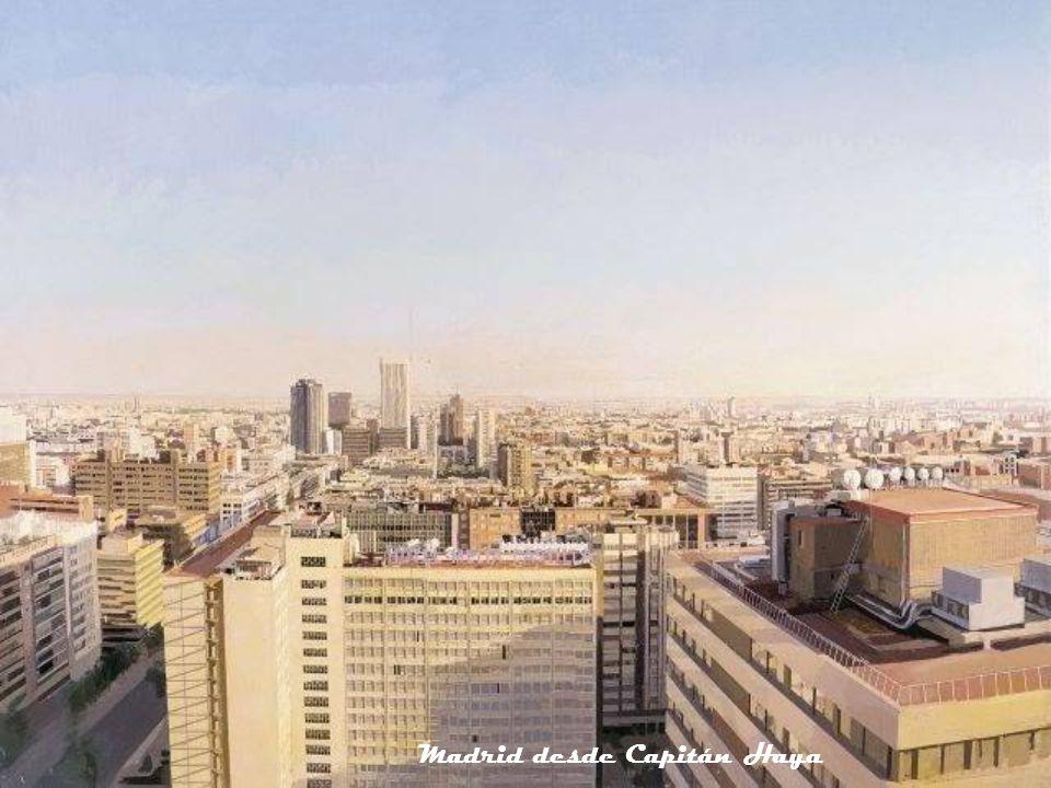 Madrid desde Capitán Haya