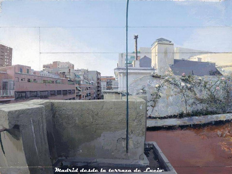 Madrid desde la terraza de Lucio
