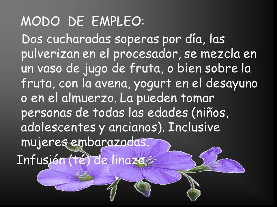 MODO DE EMPLEO: