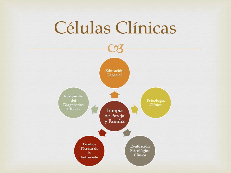 Células Clínicas Terapia de Pareja y Familia Educación Especial