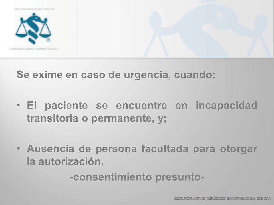 -consentimiento presunto-