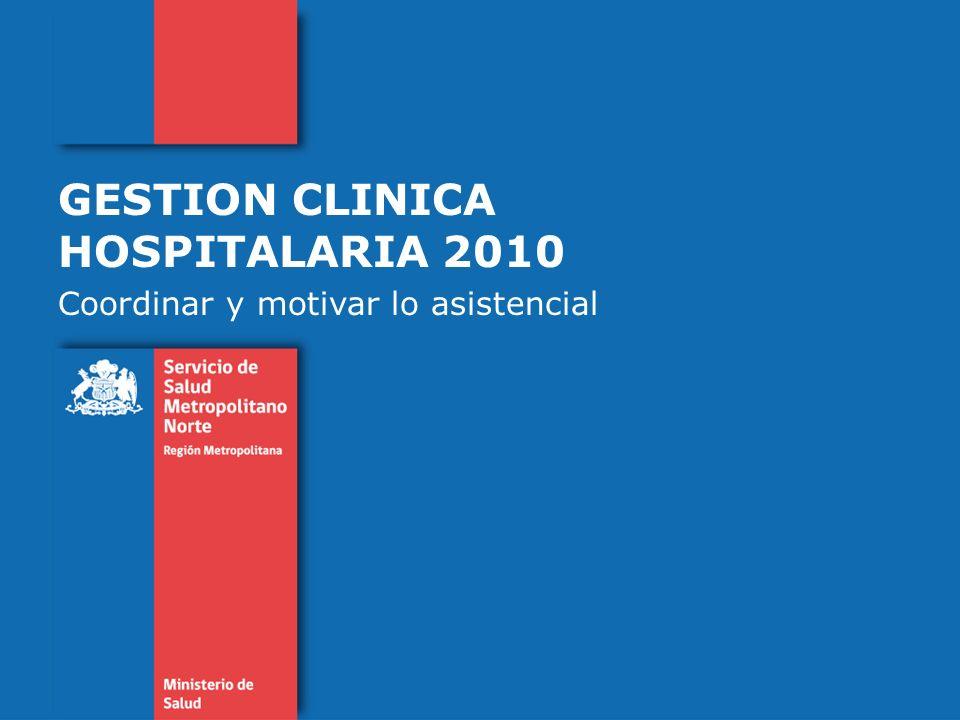 GESTION CLINICA HOSPITALARIA 2010