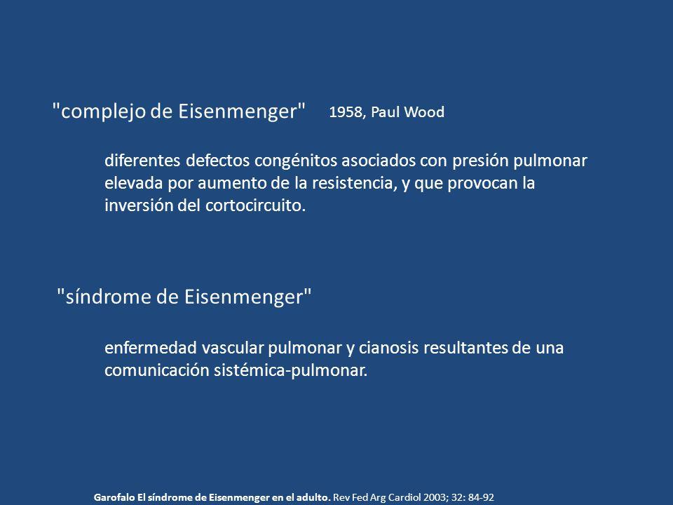 complejo de Eisenmenger