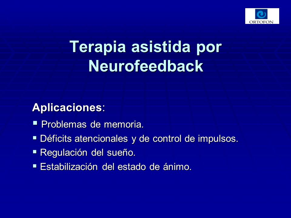 Terapia asistida por Neurofeedback