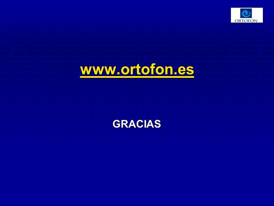 www.ortofon.es GRACIAS