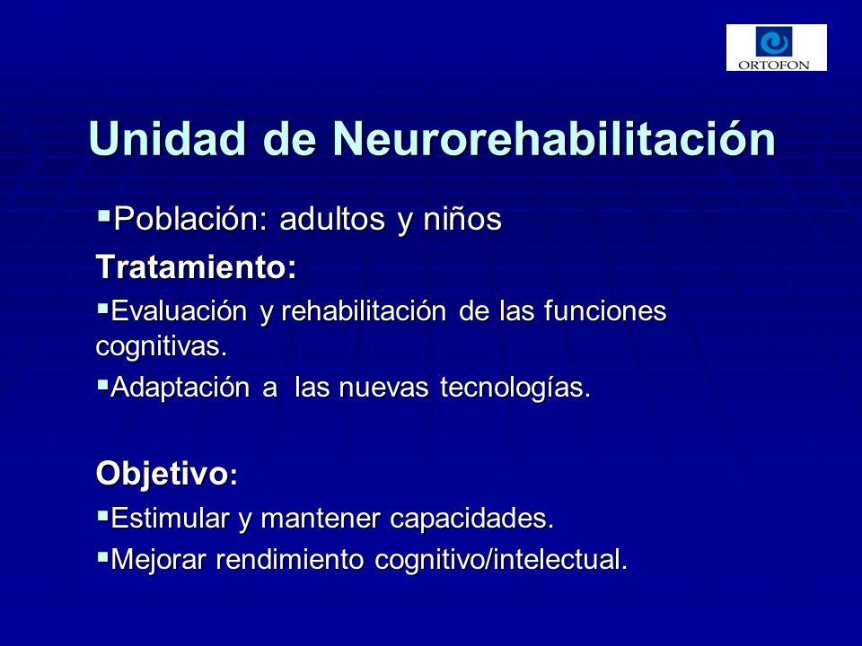 Unidad de Neurorehabilitación