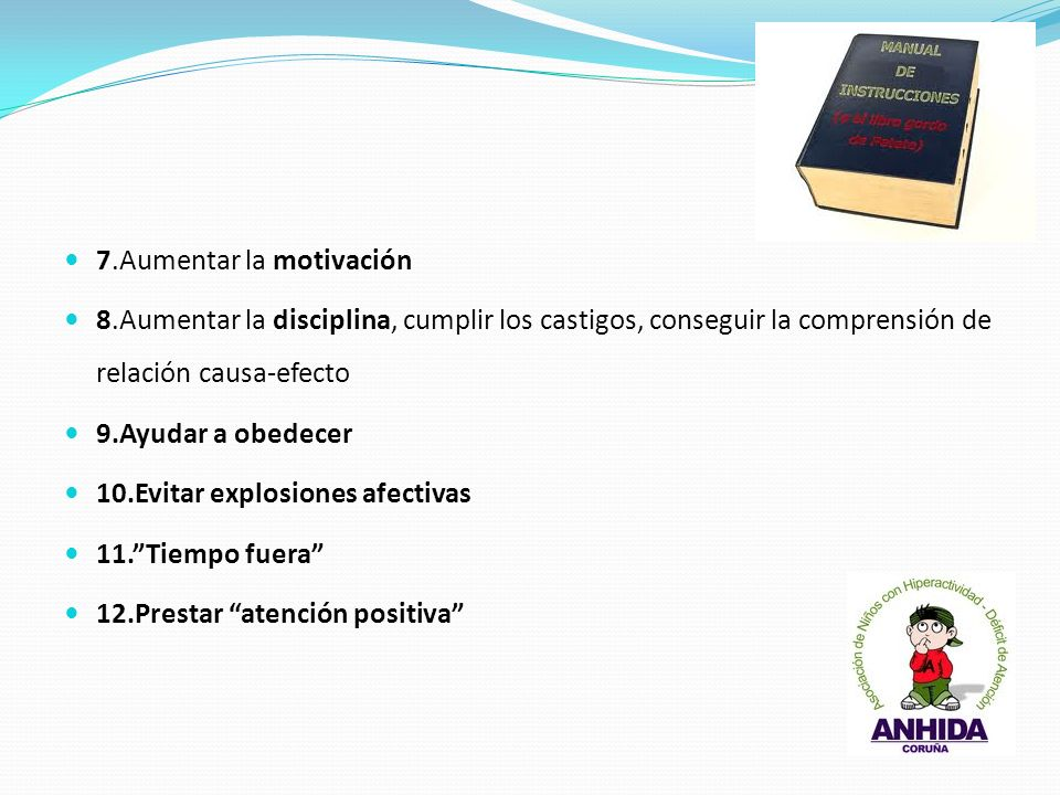 7.Aumentar la motivación